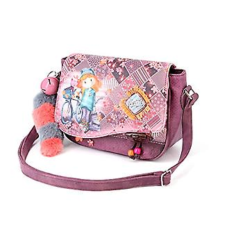 Forever Ninette Ninette Bicycle-Muffin Schultertasche Messenger Bag 26 cm Multicolor (Multicolour)