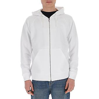 Givenchy Bmj03k30af100 Män's White Cotton Sweatshirt