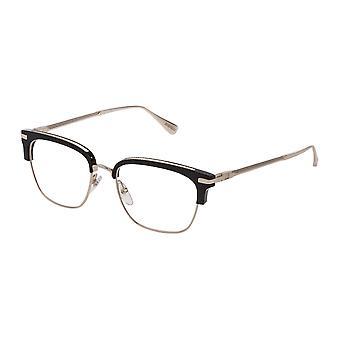 Dunhill VDH157 0300 Shiny Rose Gold-Black Glasses