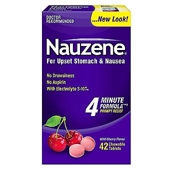 Nauzene chewable tablets, 42 ea