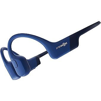 AfterShokz Aeropex Bone Conduction Headphones Wireless Waterproof - Blue Eclipse