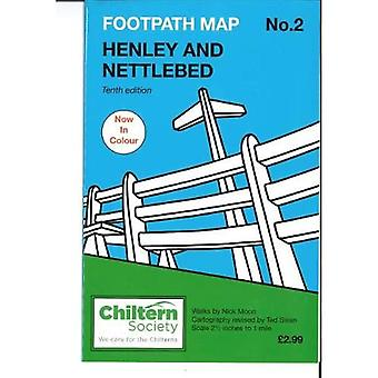 Map 2 Footpath Map 2. Henley and Nettlebed: Tenth� Edition - In Colour (Chiltern Society Footpaths)