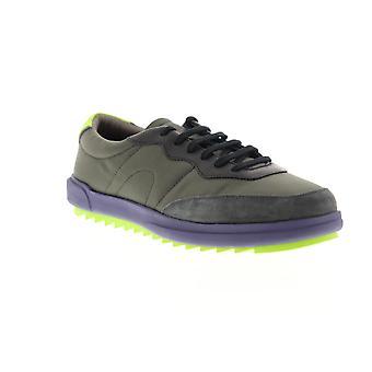 Camper Marges Hombres Verde Encaje Hasta Low Top Sneakers Zapatos