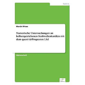 Numerische Untersuchungen an kolbengetriebenen Stowellenkanlen mit dem quasi1dProgramm L1d by Wrzos & Marcin