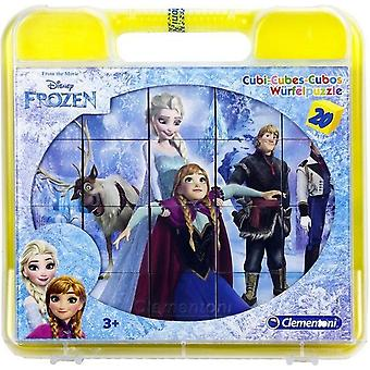 6 in 1 Frozen Frost Cube Puzzle/Puzzle Bricks 20 Pieces Puzzle Puzzle