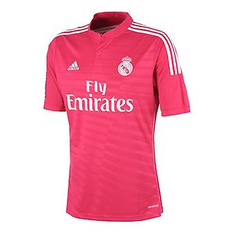 Män & APOS; s Kortärmad Football Shirt Adidas Real Madrid Pink (2 ) (Storlek l - oss)