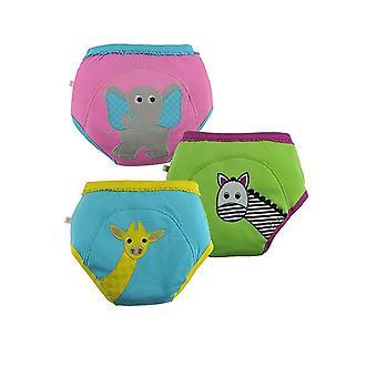 ZOOCCHINI 3-Piece Organic Cotton Potty Training Pants Set