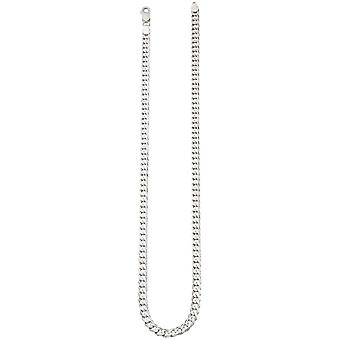 Beginnings Curb Chain Necklace - Silver