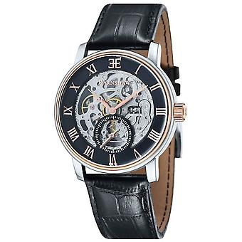 Thomas Earnshaw la montre de Westminster - Noir/Rose or/argent