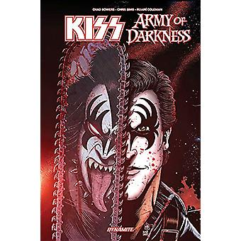 Kiss/Army of Darkness TP by Chad Bowers - 9781524107611 Book