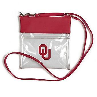 Oklahoma Sooners NCAA Clear Gameday Crossbody Purse