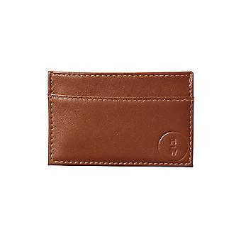 Hills & West Morgan Cardholder Whisky Blind Emboss
