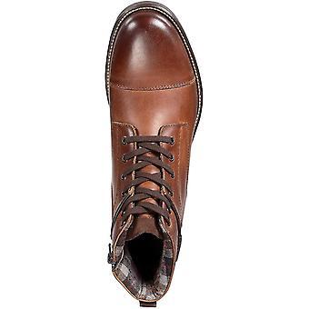 Alfani Menăs Jack Cap Toe Boots Brown