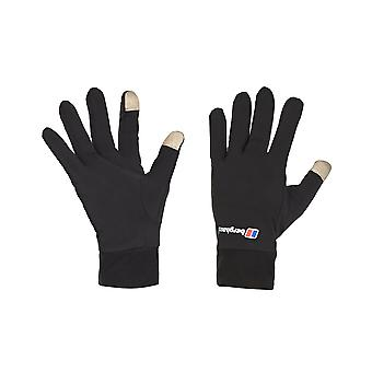 Berghaus Outdoor Winter Walking Smartphone Liner Handschuhe Schwarz