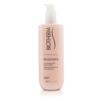 Biosource softening & make up removing milk for dry skin 206221 400ml/13.52oz