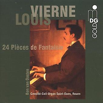 L. Vierne - Vierne: Fantasy Pieces [CD] USA import
