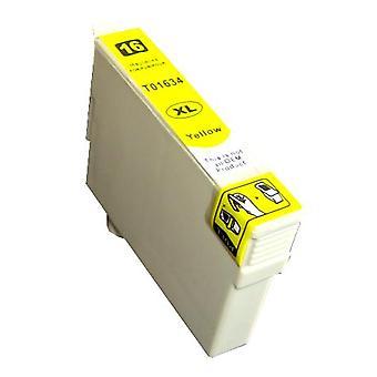 رودي تووس استبدال إبسون 16XL (القلم) الحبر خرطوشة الأصفر متوافق مع WF-2760DWF
