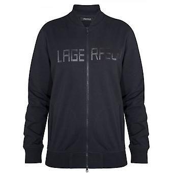 Lagerfeld Navy Zip Sweatshirt
