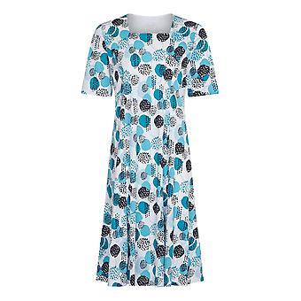 TIGI White Circle Print Dress