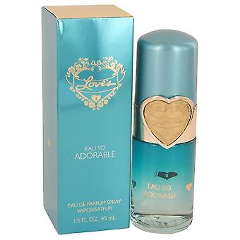 Rakkauden Eau niin ihana Dana Eau De Parfum Spray 1,5 oz/44 ml (naisten)