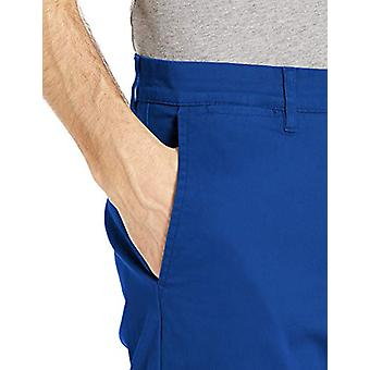 Merk - Goodthreads Men's Skinny-Fit Washed Comfort Stretch Chino Pant, Bright Blue, 38W x 29L