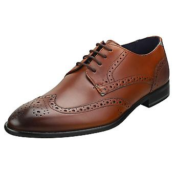 Ted Baker Trvss Mens Brogue Shoes in Tan