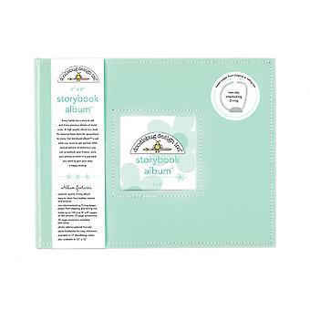 Doodlebug Design Mint 8x8 Inch Storybook Album