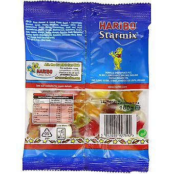 HARIBO Starmix 0.98kg, bulk sweets, 6 packs of 160g