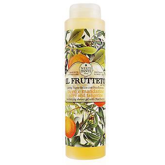Il frutteto hidratante gel de chuveiro com olea europea azeitona e tangerina 251254 300ml/10.2oz