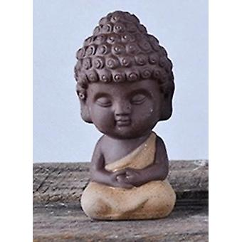 Small Buddha Statue - Mandala, Decorative, Ceramic Ornament
