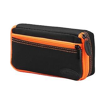 36-0700-09, Casemaster Plazma Nero con cassa dardo rifinitura arancione