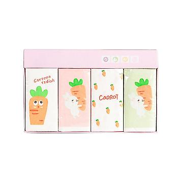 Mini Napkins Paper Radish Cartoon Printed Tissue Paper For Kids Birthday Party Supply Rondom