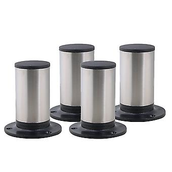 4pcs Stainless Steel Adjustable Furniture Foot Leg Feet 85*100mm
