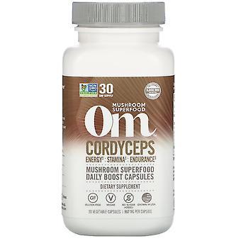 Om Mushrooms, Cordyceps, 667 mg, 90 Vegetarian Capsules
