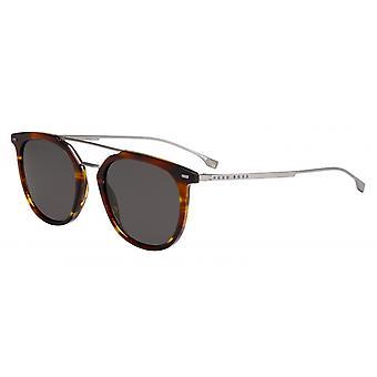 Solglasögon Män 1013/SEX4/IR Mäns 56 mm brun/grå