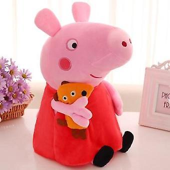 Soft Stuffed Cartoon Animal Family Doll For Children's