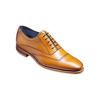 Barker Thomas - Bezerro de Cedro | Mens Handmade Leather Oxford | Sapatos Barker