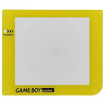 Zedlabz replacement screen lens plastic cover for nintendo game boy pocket - yellow
