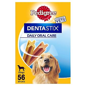 56 Pedigree Daily Dentastix Dental Dog Treats Large Dog Chews Teeth Cleaning