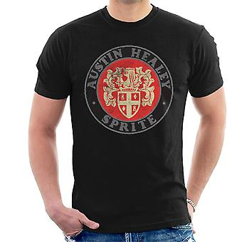 Austin Healey Sprite Logo British Motor Heritage Men's T-paita