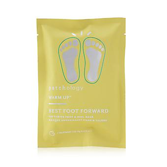 Warm up best foot forward softening foot & heel mask (1 treatment) 253764 2x9g/0.3oz