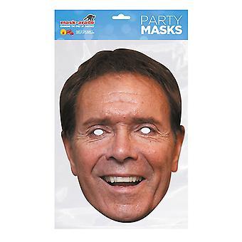 Máscara-arade Cliff Richard Celebridades Máscara de Cara de Fiesta