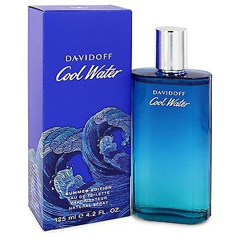 Cool Water Summer Edition Eau De Toilette Spray (2019) Por Davidoff 4.2 oz Eau De Toilette Spray