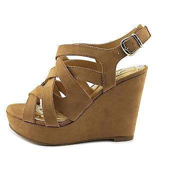 Thalia Sodi Womens MADDORAF Peep Toe Casual sandálias