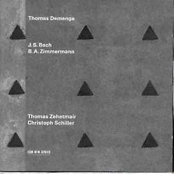 Demengathomas - Thomas Demenga Plays Bach & Zimmermann [CD] USA import