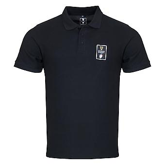 Guinness 6 Nations Rugby Mens Pique Polo | Black | 2021