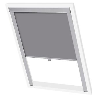 Blackout roller blind Grey FK06