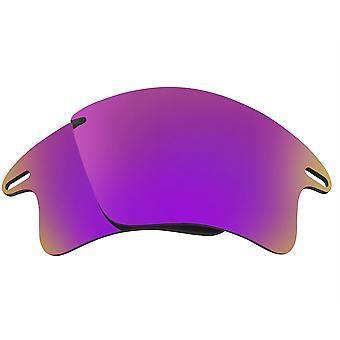 Vervanging lenzen voor Oakley Fast Jacket XL zonnebril anti-scratch paars