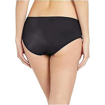 أساسيات المرأة & apos;ق هيبستر بيكيني ملابس السباحة القاع, أسود, S