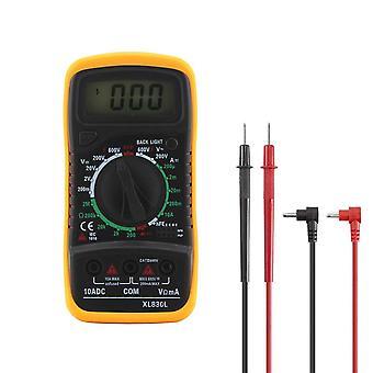 Digitale Multimeter Lcd Backlight Portable Ammeter Voltmeter Ohm Voltage Tester